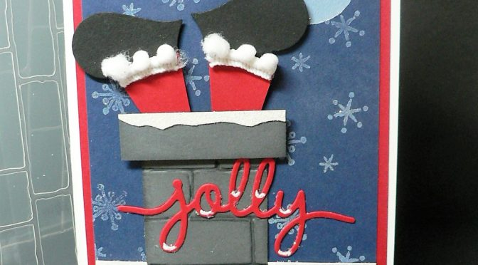 NC Demo Blog Hop – Stuck Santa