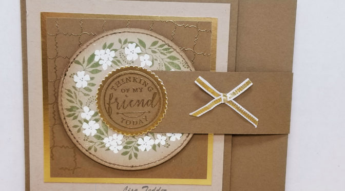 Wanna WOW your friends card for Kylie's July International Blog Hop