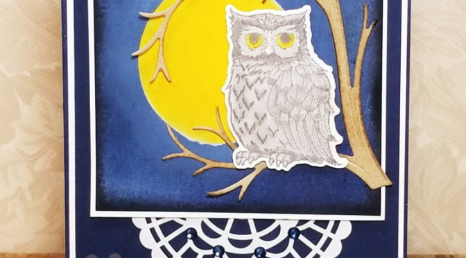 Moonlit Owl using NEW Occasions catalog!