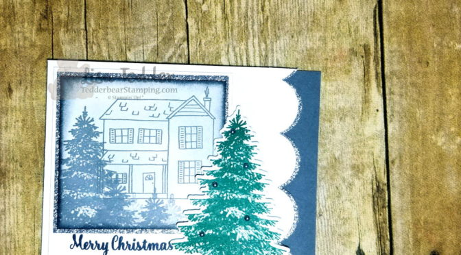 Christmas Card #15 Black and White Farmhouse Christmas