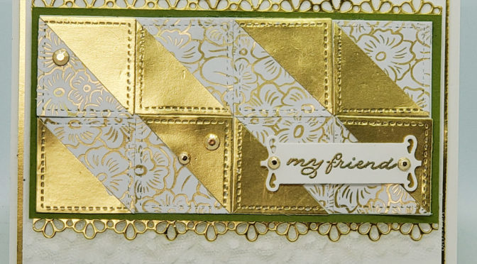 Ornate Garden Quilt Card